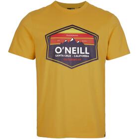 O'Neill Mtn Horizon SS Shirt Men honey gold